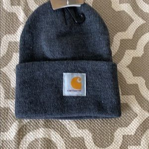 """Carhartt Accessories - """"Carhartt """"gray beanie hat; one size fits all"""